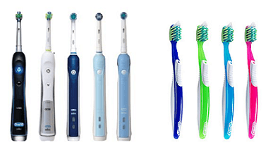 Electric & Manual Toothbrush